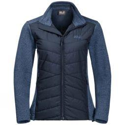 Jack Wolfskin Womens Caribou Crossing Fleece Midnight Blue