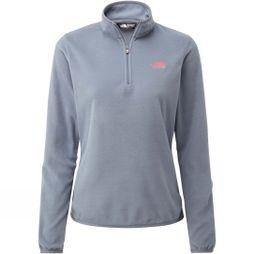 The North Face Womens Cornice 1/4 Zip Fleece Grisaille Grey