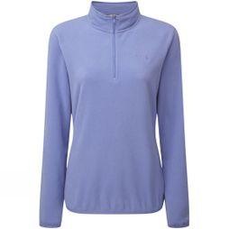 The North Face Womens Cornice 1/4 Zip Fleece Stellar Blue