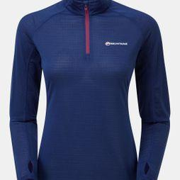 Montane Womens Allez Micro Pull-On Antarctic Blue/Dahlia