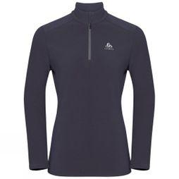 Odlo Womens Le Tour Pullover Half Zip Odyssey Gray