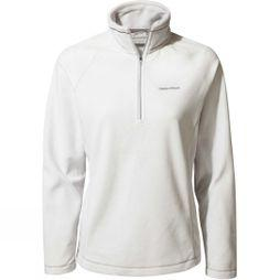 Craghoppers Womens Miska Half Zip Fleece Dove Grey
