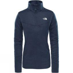 The North Face Womens Hikesteller 1/4 Zip Top Urban Navy Dark Heather
