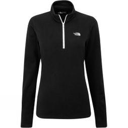 The North Face Womens Cornice II 1/4 Zip Fleece TNF Black/TNF White