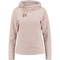 Ayacucho Womens Whistler Fleece White/Ash Rose Stripe
