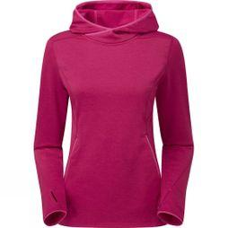 Montane Womens Sirenik Hoodie Pull-On French Berry/Dolamite Pink