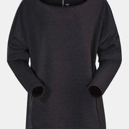 Arc'teryx Womens Nyara Boatneck Pullover Black Heather
