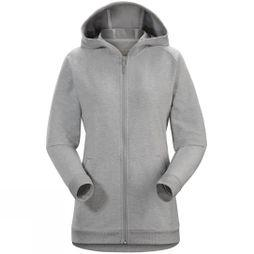 Womens Word On end Full-Zip Hoody