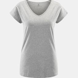 Haglofs Womens Camp Tee Grey Melange