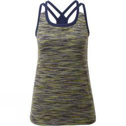 Rab Womens Maze Tank Top Sulphur/Blueprint