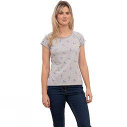 Brakeburn Women's Bike T-Shirt Grey Marl