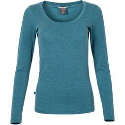 Rab Womens Crimp Long Sleeve Tee Blue Monday Marl