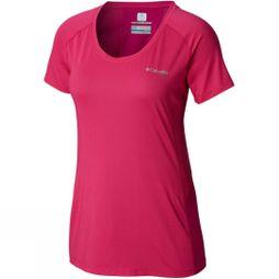 Columbia Womens Titan Trail Lite Short Sleeve Haute Pink