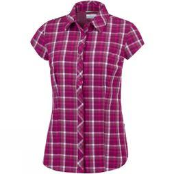 Columbia Womens Saturday Trail II Stretch Print Wine Berry Plaid