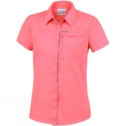 Columbia Womens Silver Ridge 2.0 Short Sleeve Coral Bloom