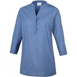 Columbia Womens Early Tide Tunic Blue Dusk Dots Print