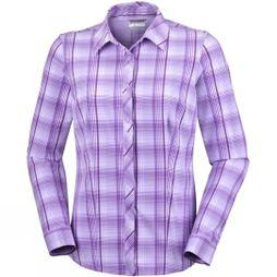 Womens Saturday Trail Stretch Plaid Long Sleeve Shirt