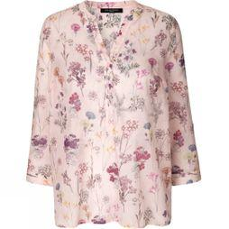Ilse Jacobsen Womens Floral 02A Volid Blouse Rosy Pink
