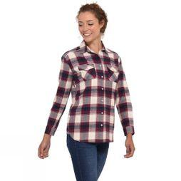 Brakeburn Women's Check Flannel Shirt Cream