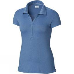 Columbia Women's Shadow Time Polo Blue Dusk