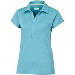 Columbia Womens Shadow Time Polo Atoll