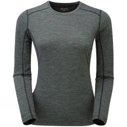 Montane Womens Primino 140 Long Sleeve T-Shirt Black