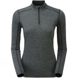 Montane Womens Primino 140 Zip Neck Black