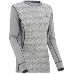 Kari Traa Womens Vrimmel Long Sleeve Top Grey