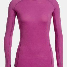 Icebreaker Womens 150 Zone LS Crewe Top Amore