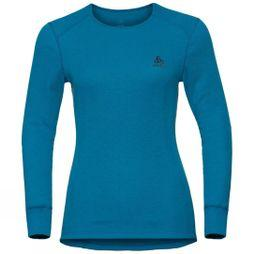 Odlo Womens Active Warm Long-Sleeve Base Layer Turkish Tile