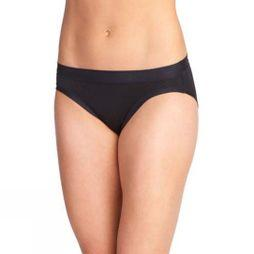 ExOfficio Womens Give-N-Go Sport Mesh Hi Cut Briefs Black