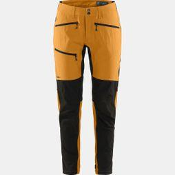 Haglofs Womens Rugged Flex Pant Desert yellow/true black