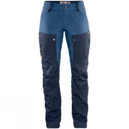Fjallraven Women's Keb Trousers Dark Navy / Uncle Blue