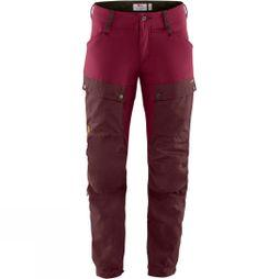 Fjallraven Womens Keb Trousers Dark Garnet / Plum