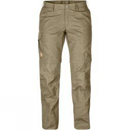 Fjallraven Womens Karla Zip-Off Trousers Savanna
