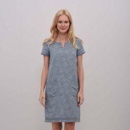 Womens Tulip Linen Dress