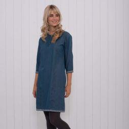 Womens Denim Shift Dress