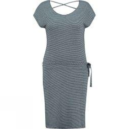 Ayacucho Womens Graciosa Dress Navy/White Stripe