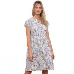 Brakeburn Women's Botanical Summer Dress White Floral Print
