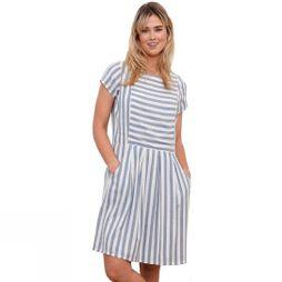Brakeburn Women's Woven Stripe Dress Blue Stripe