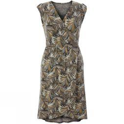 Royal Robbins Women's Noe Cross-Over Dress Light Aupe Print