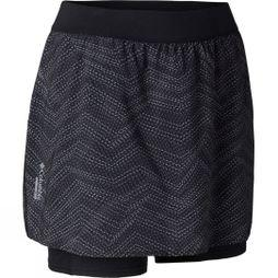 Columbia Womens Titan Ultra Skort Black, Black Pr