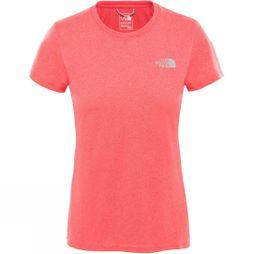 The North Face Womens Reaxion Amp Crew Atomic Pink Heather