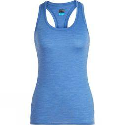 Icebreaker Womens Amplify Racerback Tank Cove Heather