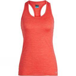 Icebreaker Womens Amplify Racerback Tank Ember Heather