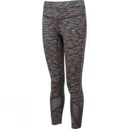 Ronhill Womens Infinity Crop Tights  Charcoal/Apricot