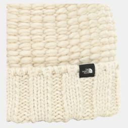 The North Face Cozy Chunky Beanie Vintage White