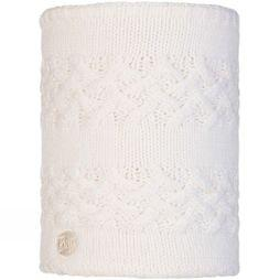 Buff Women's Savva Knitted Neckwarmer White