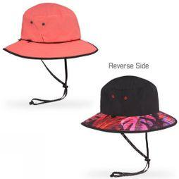 Sunday Afternoons Womens Daydream Bucket Hat Coral Reversible
