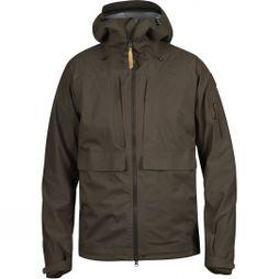 Fjallraven Lappland Eco-Shell Jacket Dark Olive
